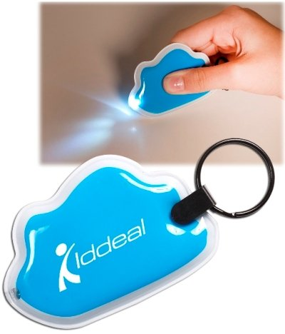Customized Light Blue Cloud Key Light Image