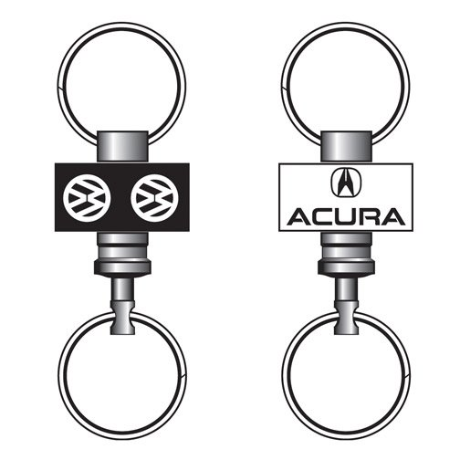 Pull A Part Key Ring Imprinted Options Image