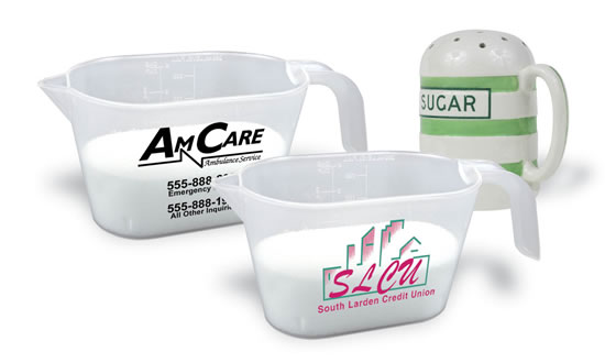 Promotional Measuring Cups Image