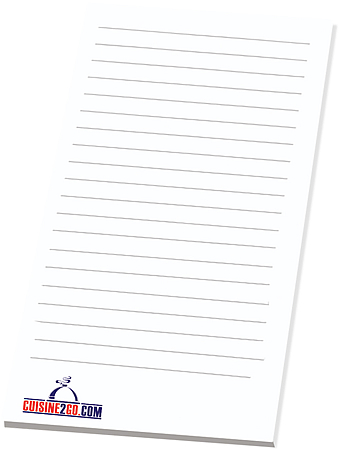 Promotional Image-3 x 6 Custom Note Pad