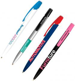 Bic Media Clic Pen Imprinted Image