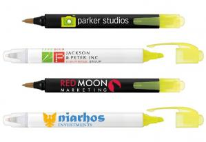 Bic Two Sider Pen-Highlighter Combo