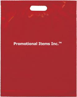 Promotional Plastic Bag Image-15 x 19 x 3 Die Cut Handle Show Bag