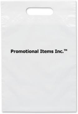 9 1/2 x 14 Promotional Plastic Bag Image
