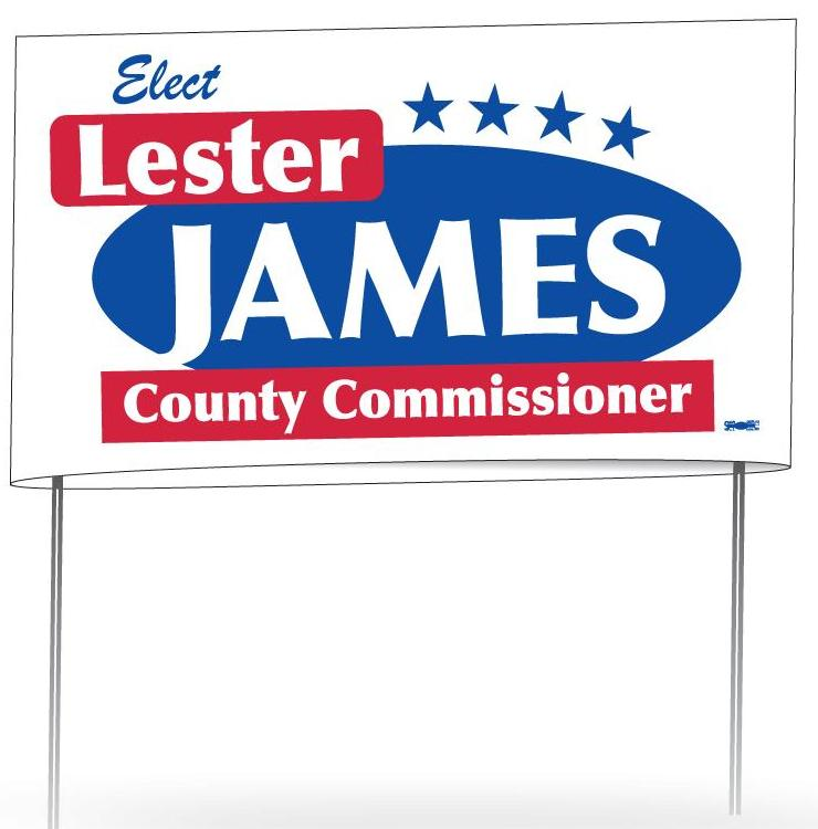 Election-Yard Sign