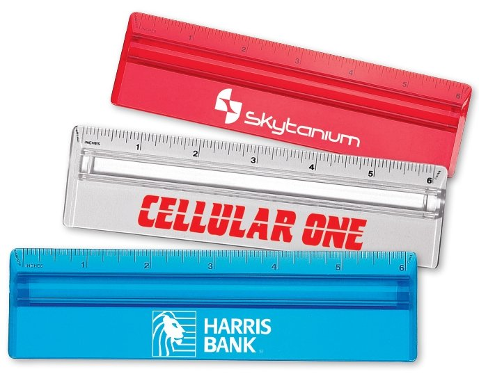 Ruler-6 Inch Plastic Magnifying