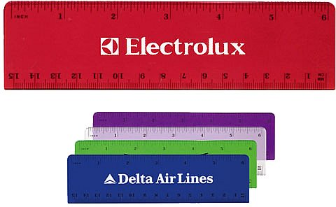 Ruler-6 Inch Plastic Advertising