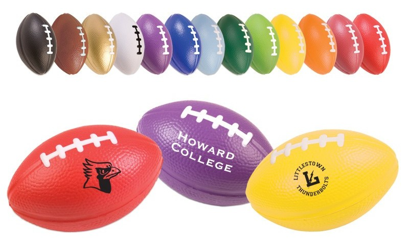Promotional Football Stress Balls Colors Image