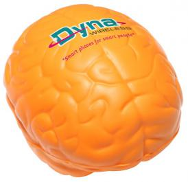 Brain Shape Promotional Stress Ball Image