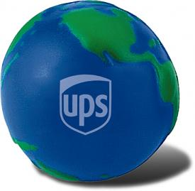 Promotional Stress Ball Image-Globe