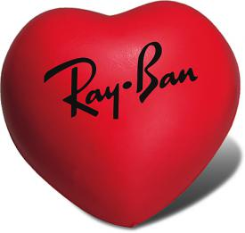 Promotional Stress Ball Image-Heart