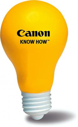 Promotional Stress Ball Image-Light Bulb