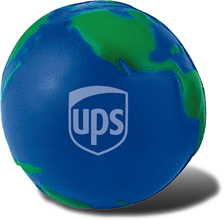 Promotional Stress Ball-Globe