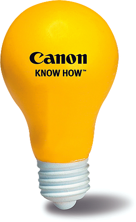 Promotional Stress Ball-Light Bulb