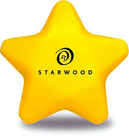 Promotional Stress Ball Image-Star