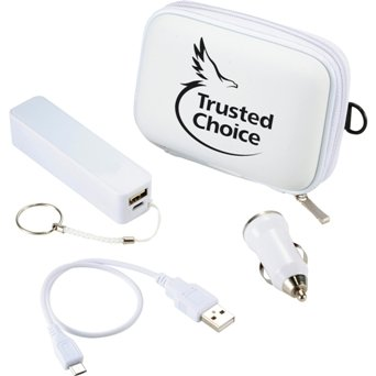Jive Power Bank Kit White Colors Image
