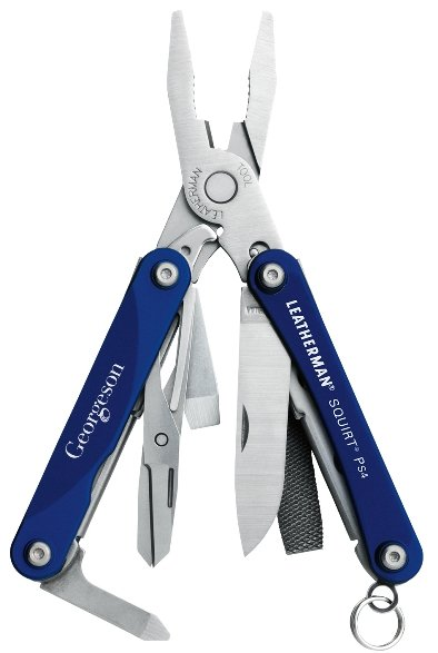 Leatherman Squirt Pliers Blue Tool