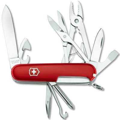 Red Deluxe Tinker Knife