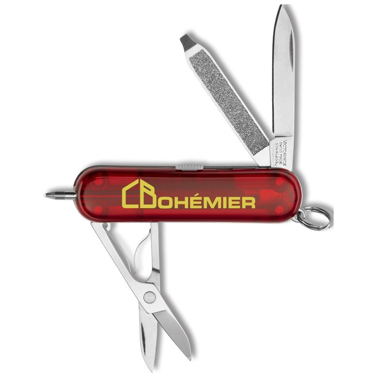 Promotional Knives - Signature Swiss Army Pocket Knife