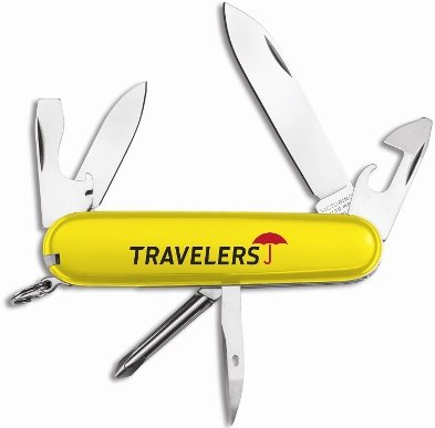 Yellow Tinker Knife