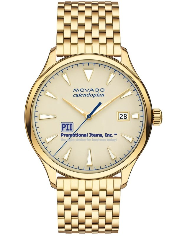 Movado Heritage Calendoplan Mens Watch