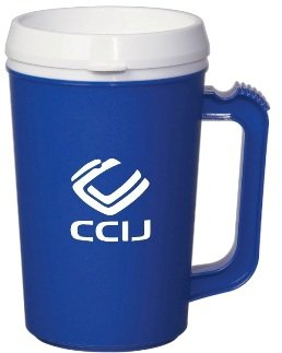 22 oz. Large Plastic Thermal Mug