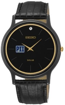 Seiko Mens Custom Logo Watch